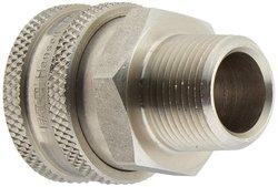 Eaton Hansen Stainless Steel 303 Straight Ball Lock Hydraulic Fitting