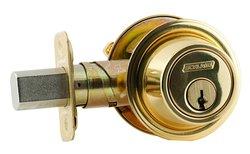 Schlage B560P Single Cylinder X Thumbturn 605 Ka4 - Bright Brass