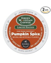 Green Mountain Coffee Roasters Fair Pumpkin Spice Flavored Coffee k-Cups