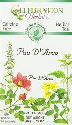 Celebration Herbals 24 Pcs Pau D'Arco Tea Bags