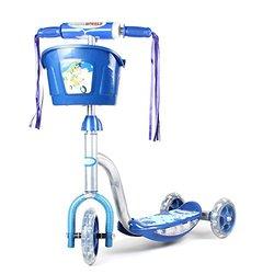 Chromewheels Pixie Glidekick Scooter with light (Blue)