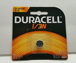 Duracell 3.0V Lithium Photo Electronic Battery (DL1/3BPK)