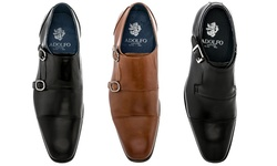 Adolfo Couture Milan Men's Dress Shoes - Milan-4/Tan - Size: 13