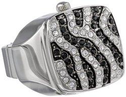 Gianello Men's 5-link Bracelet Watch: Black Band