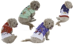 New York Dog Ugly Holiday Sweater: Ninja Santa/medium