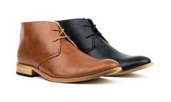 Royal Men's Classic Chukka Boots: Black (size 12)