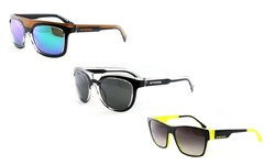 Diesel Men's Sunglasses: Ff0003/05v Crystal/black Frame
