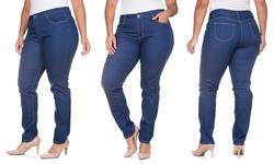 Dark Blue Buttlifter 5-pocket Jeans: 13/14