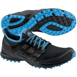 Adidas Men's Golf Shoes: Climacool Black-cyan/11