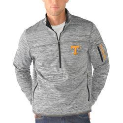 Men's NCAA Tennessee Volunteers Half-Zip Pullover - Gray - Size: M