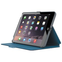 Speck Folio Case for iPad Mini/2/3 - Rattleskin Grey/Tahoe Blue