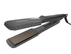 Jose Eber - Wet & Dry Flat Iron Straightener, Flat Iron, Get Soft Silky Hair, Dual Voltage 110-240v, Use on Wet or Dry Hair, Create Soft Shiny Hair, Healthy, Wide Plates for Faster Styling, Worldwide Dual Voltage Use Anywhere