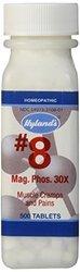 Hyland's No.8 Magnesia Phosphorica Tablets 30X 500ct