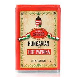 Pride of Szeged Hot Paprika Hungarian Style Box 4 oz