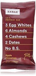 RxBar Protein Bar Apple Cinnamon - 12 Bars 1.61lbs