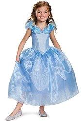 Disney Cinderella Movie Deluxe Child Costume Large 10-12 Blue
