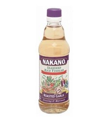 Nakano Seasoned Rice Vinegar with Garlic - 6x12 Oz