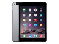 """Apple 9.7"""" iPad Air 2 Tablet 64GB Wi-Fi + Cellular- Space Gray (MH2M2LL/A)"""