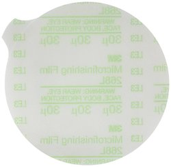 "3M Microfinishing Aluminum Oxide PSA Film Disc Roll - Green - Size: 3"" Dia"