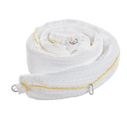 """New Pig Polyester Netting Oil-Only Spaghetti Boom - White - Size: 5""""x 10'"""