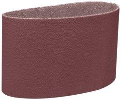 """3M Aluminum Oxide Cloth Belt 341D - 6"""" Width x 60"""" Length - 80 Grit"""
