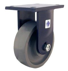 Rwm Casters Plate Caster - Heavy Duty Forged Steel Wheel - 20000 lbs