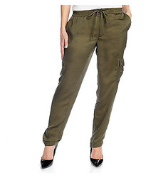 Wdny Women's Jogger Pant - Olive - Size: X-Small
