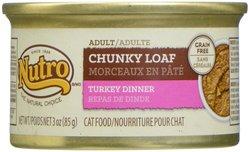 Nutro Adult Chunky Loaf Turkey Dinner - 3 Oz