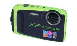 Fujifilm FinePix XP90 16.4MP Waterproof Camera: Green