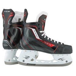 CCM Jet Speed 270 Junior Skates - Black/Red - Size: 5.5D