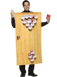 Beer Pong Costume Costume - One Size - Chest Size 42-48