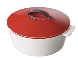 "Revol Round 10"" Cocotte with Lid - Red"