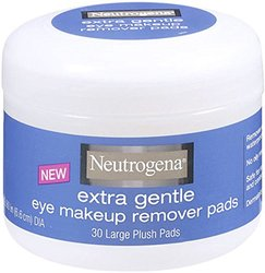 Neutrogena Extra Gentle Eye Makeup Remover Pads - Pack of 30