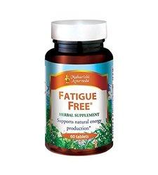 Fatigue Free - 1000 mg - 60 Herbal Tablets