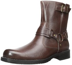 Kenneth Cole Unlisted Men's Slightly Off Harness Boot - Brown - Size: 9.5M