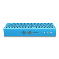 Crasher Slim Rugged Wireless Bluetooth Speaker: Blue