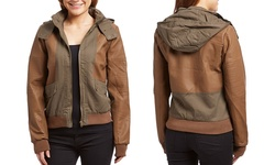 Olivia Miller Quilted Jacket: Large