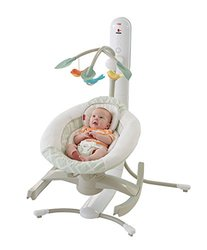 Fisher Price 4 Motion Cradle 'n Swing with Smart Connect