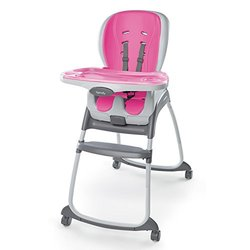 High Chair Ingenu Pnk Solid