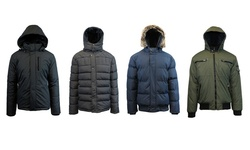 Spire Galaxy Men's Heavyweight Jackets - Navy - Size: XL