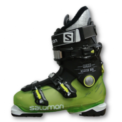 Salomon Quest Access R80 Alpine Ski Boots - Black/Green - Size: 26.5