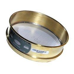 """Advantech Brass Test Sieves 12"""" Diameter 2.00"""" Mesh"""