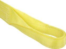 Mazzella Lifting Technologies EE2902 Nylon Web Sling Eye & Eye - Yellow