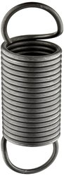 """Small Parts Music Wire Extension Spring Steel Wire 10PK - Size: 6"""""""