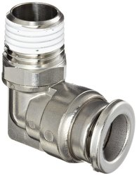 SMC Corporation KQG2 Stainless Steel 316 Push Connect Tube Fitting 90 D
