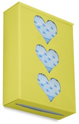 TrippNT 52483 Ultimate Heart Triple Bright Idea Glove Holder - Yellow