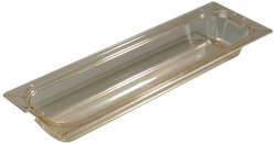Carlisle StorPlus Gastronorm High-Heat Half-Size Long Food Pan - Amber