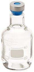 Chemglass Borosilicate Glass Clear Anaerobic Media Bottle - 50ml Capacity