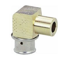 "Viega Pureflow Zero Lead Bronze Pex Press Tubing 20 Pcks - Size: 1/2""x1/2"""
