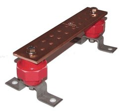 """Storm Power Wall Mounted Copper Ground Bus Bar Kit - 0.25"""" x 2"""" x 10"""""""